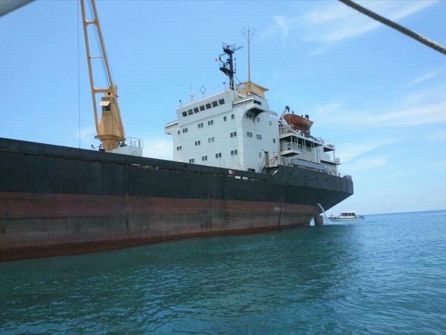 Sancionan a buque norcoreano que encalló cerca del puerto de Tuxpan