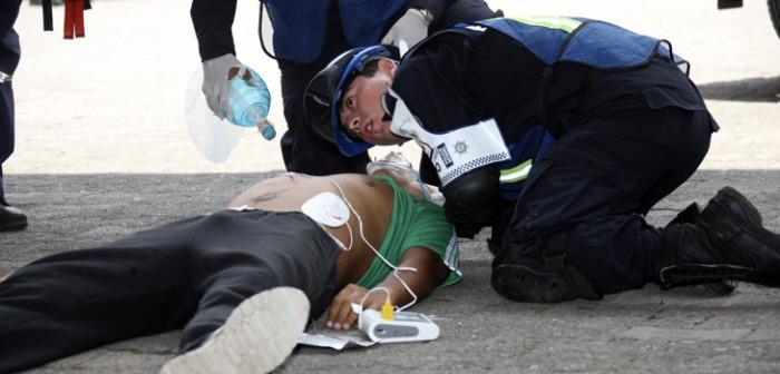 Policías estatales, capacitados para atender emergencias médicas