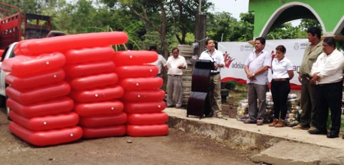 Lleva Sedesol ayuda humanitaria a Ángel R. Cabada y Lerdo de Tejada