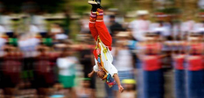 Escuela de Niños Voladores inauguran el espacio mexicano en festival holandés