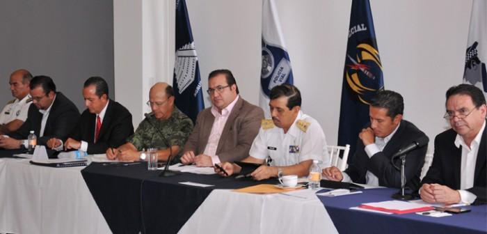 Reporta Grupo de Coordinación Veracruz avances en materia de seguridad