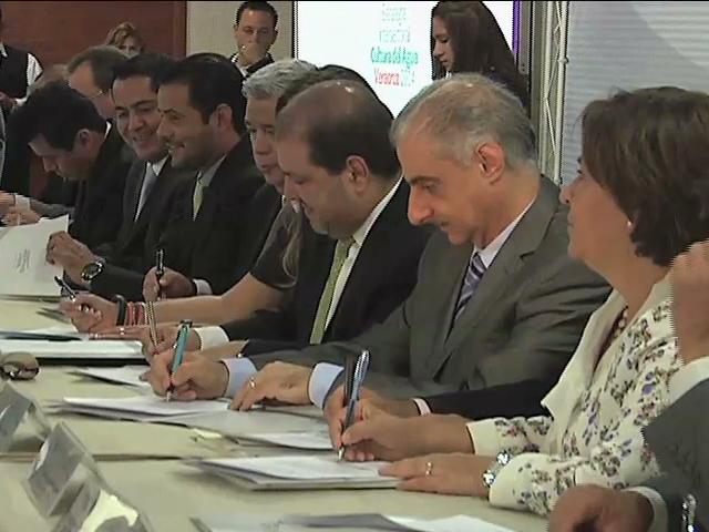 Presenta Conagua la estrategia Intersectorial Cultura del Agua Veracruz 2014