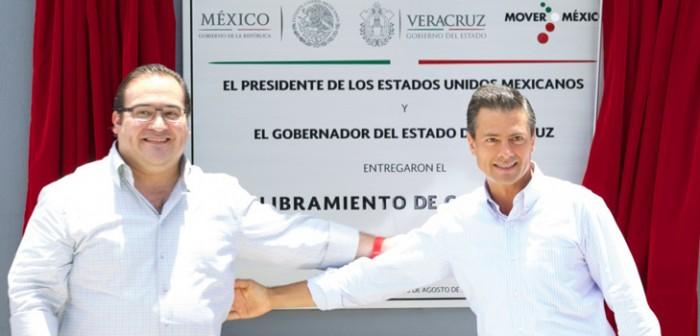El Presidente Peña Nieto le cumple a Veracruz: Javier Duarte