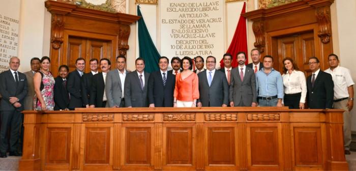 Veracruz, tierra de oportunidades para la Iniciativa Privada: Javier Duarte