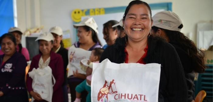Respalda DIF a mujeres indígenas en la lucha contra la violencia