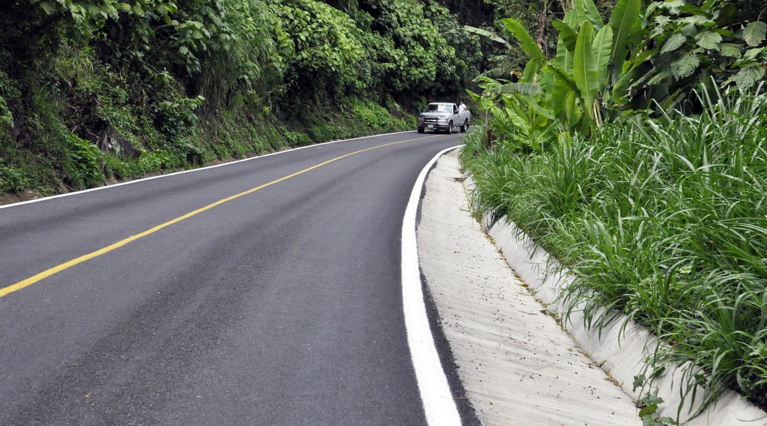 Entrega SIOP tramo carretero Coatepec-Teocelo