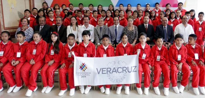 Participarán 56 alumnos veracruzanos en la Convivencia Cultural 2014