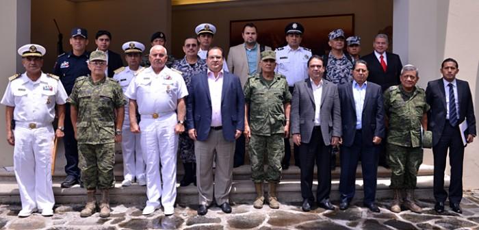 Fortalece Coordinación Veracruz estrategias de seguridad en el sur