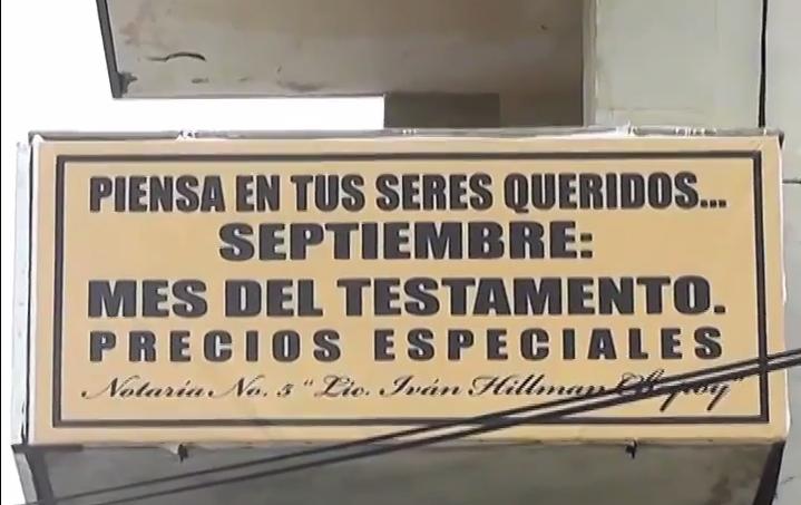 Promueven y amplían el mes del testamento en el Sur del Estado.