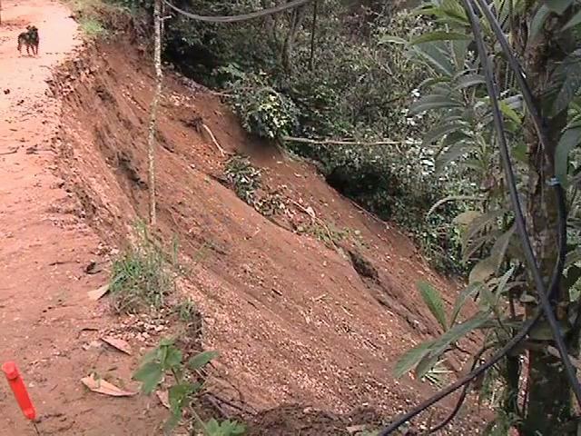Continúa el riesgo de deslaves en zona montañosa de Veracruz