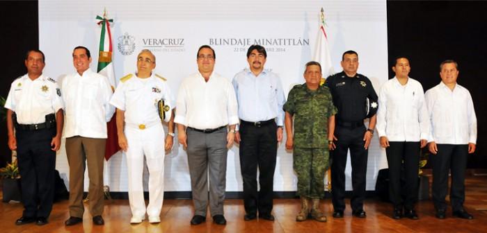 Índices delictivos en Veracruz a la baja en más de 40 por ciento: Javier Duarte