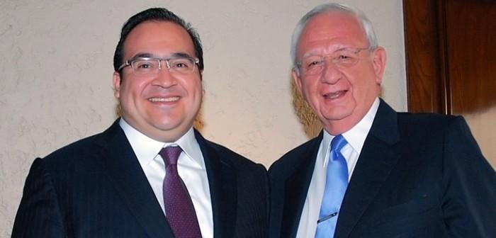 Se reúne gobernador Javier Duarte con el Presidente de la SCJN