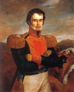 Conmemoran en Perote el natalicio del general insurgente Guadalupe Victoria