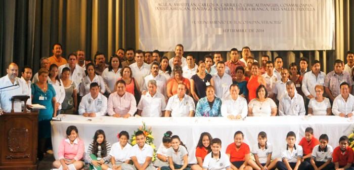 Conformados, Consejos de Participación Social en la Educación del Papaloapan