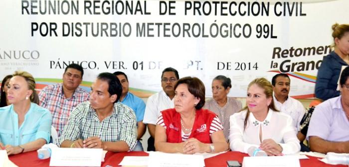 Veracruz está preparado y en alerta por disturbio tropical en el Golfo de México: PC
