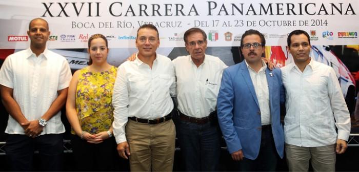 Veracruz, escenario perfecto para inicio de la Carrera Panamericana