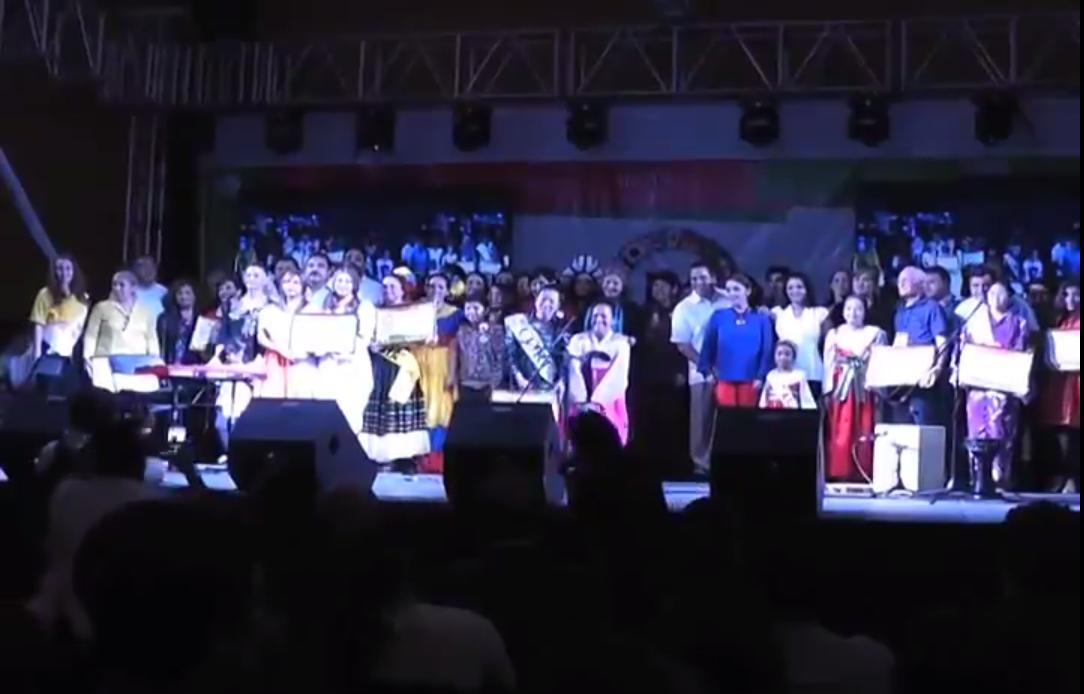 Concluyen las actividades del Mosaico de Culturas Coatzacoalcos 2014.