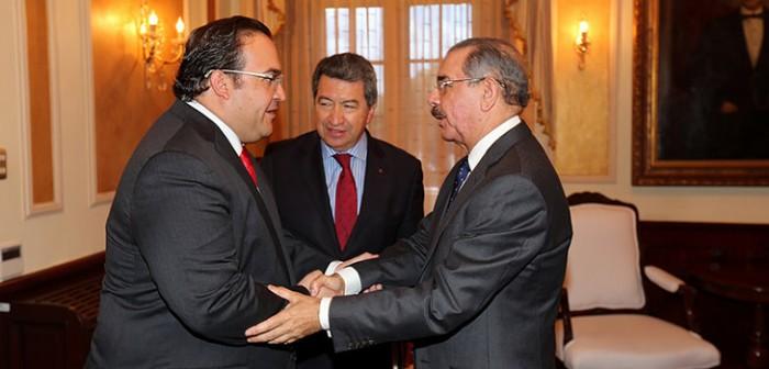 Se reúne gobernador Javier Duarte con el Presidente de República Dominicana