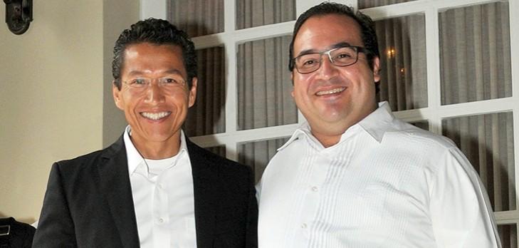 Se reúne gobernador Javier Duarte con Jefe del SAT