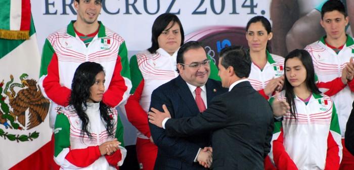 En Veracruz, todo listo para los Juegos Centroamericanos y del Caribe 2014: Peña Nieto