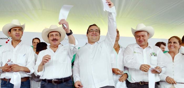 Veracruz, pilar de la productividad nacional y líder agropecuario: Javier Duarte