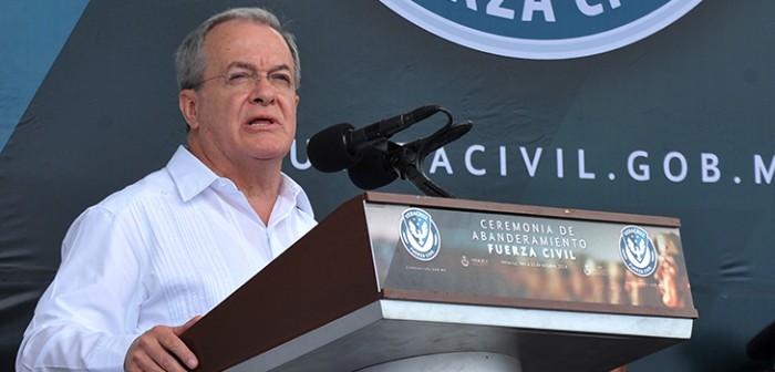 Con la Fuerza Civil, Veracruz tiene un cuerpo policiaco profesional y eficaz: Monte Alejandro Rubido