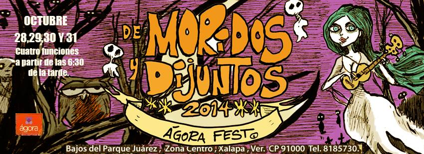 Con obras de teatro celebran el Día de Muertos en Xalapa