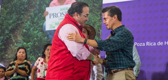 Felicita presidente Enrique Peña a Javier Duarte por la creación de la Fuerza Civil