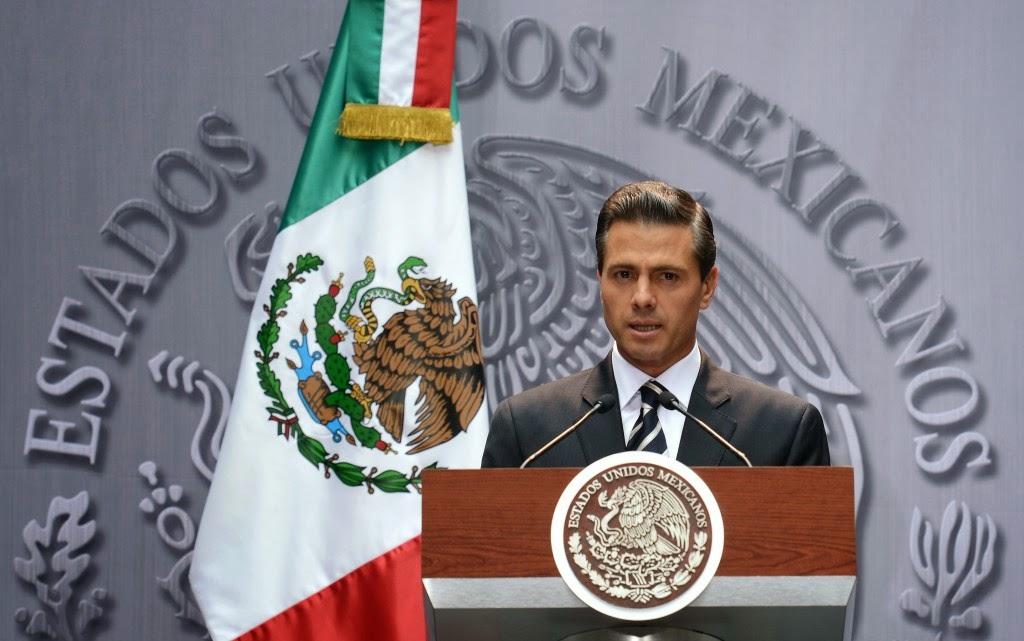 Sin lugar a la impunidad, ratifica Enrique Peña Nieto ante hechos en Iguala
