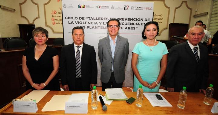 Inicia el taller de prevención de la violencia dentro de las escuelas