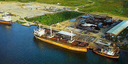 Avanza ampliación del puerto de Tuxpan