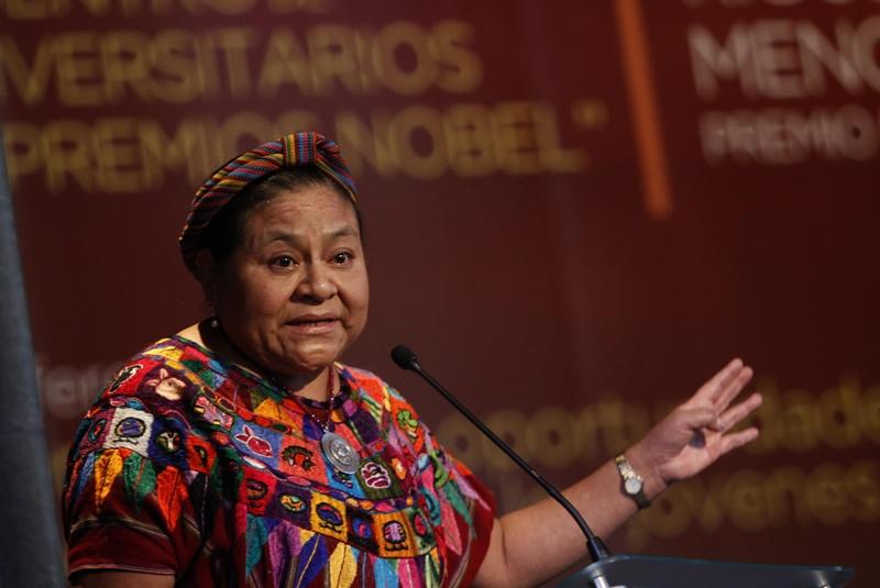 Es momento de retomar los valores: Rigoberta Menchú