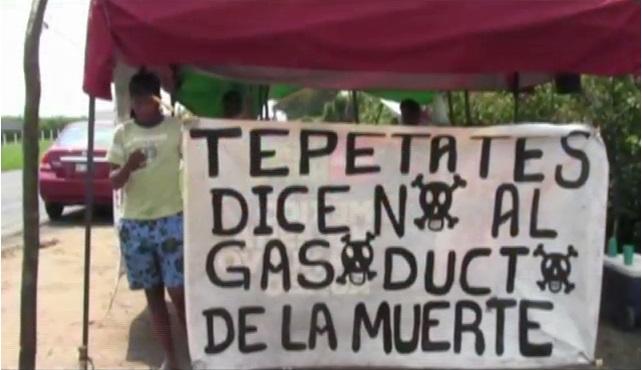 Continúa inconformidad en San Rafael por instalación de gasoductos