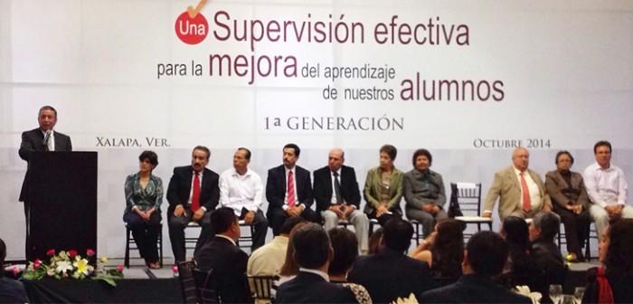 Egresa 1ª generación de diplomado de supervisores escolares