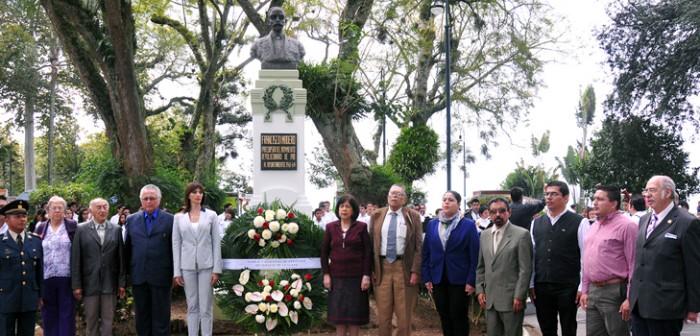 Conmemoran 141 aniversario de natalicio de Francisco I. Madero