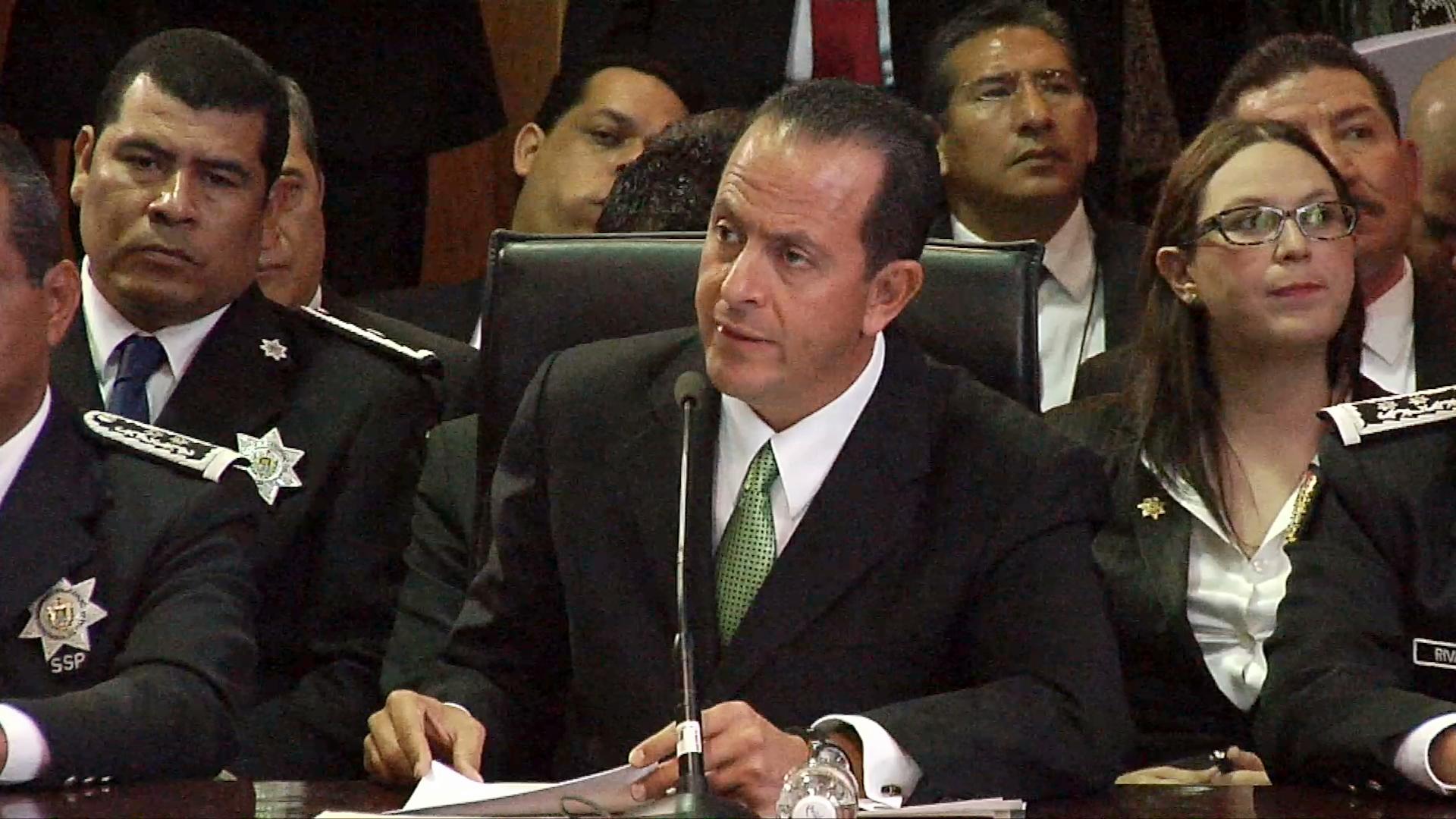 Presenta su renuncia al cargo el titular de la Secretaría de Seguridad Pública