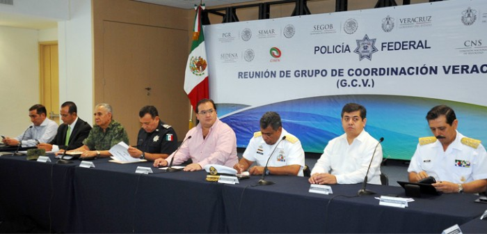 Instala gobernador Javier Duarte Comando Unificado para garantizar seguridad de los JCC 2014