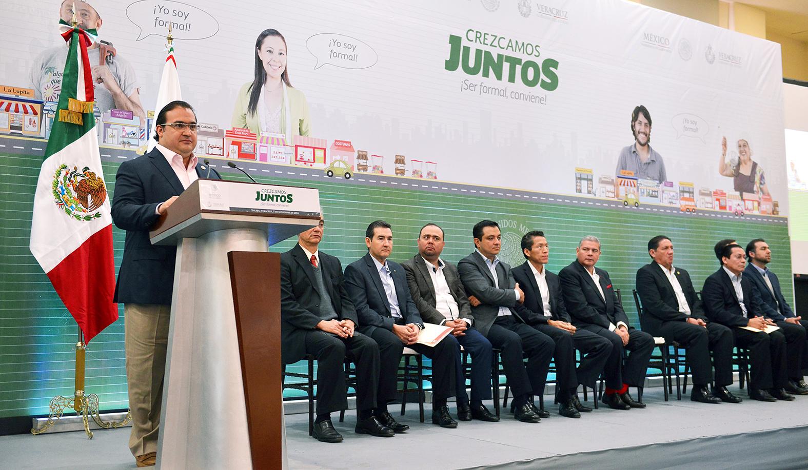 Con Crezcamos juntos, se robustece la economía de los estados: Javier Duarte