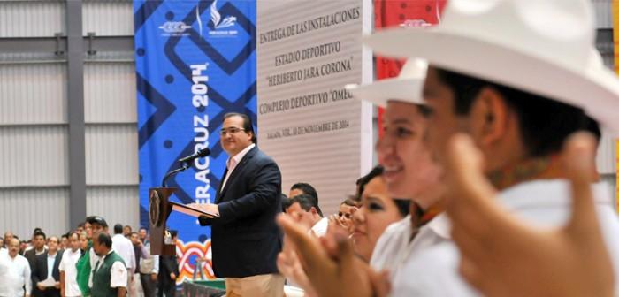 Con infraestructura moderna, Veracruz muestra su compromiso deportivo con todo México: Javier Duarte
