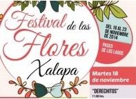 Realizan el Festival de las Flores Xalapa 2014