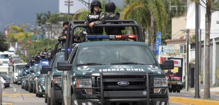 Abaten fuerzas del orden a presunto delincuente y aseguran vehículo y arma de fuego