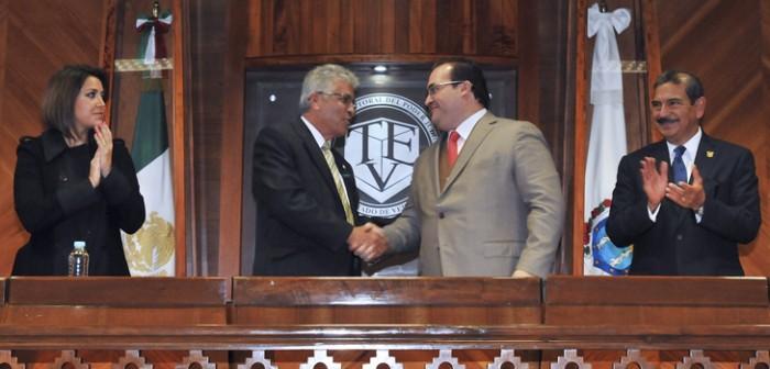 Veracruz, tierra de leyes y de confianza en las instituciones: Duarte de Ochoa