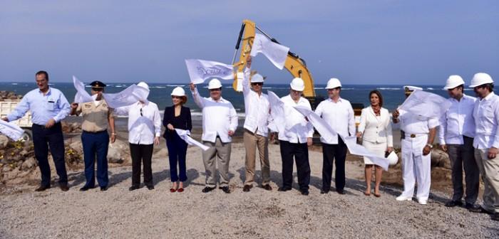 Encabeza gobernador Javier Duarte inicio de Ampliación del Puerto de Veracruz
