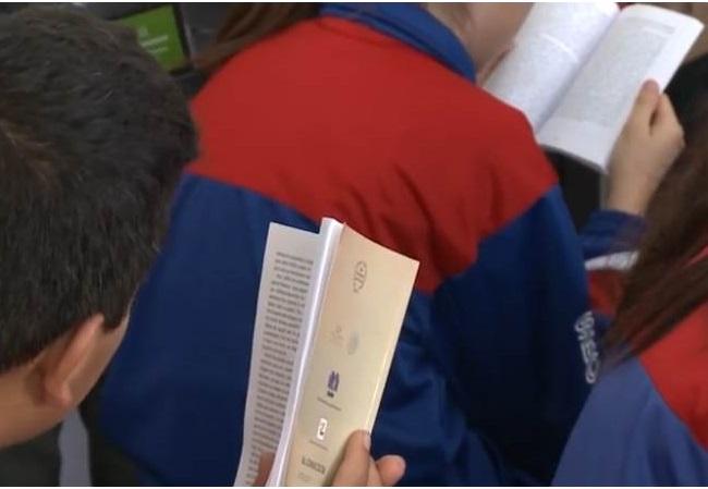 Con maratón de lectura  celebran el Día Nacional del Libro
