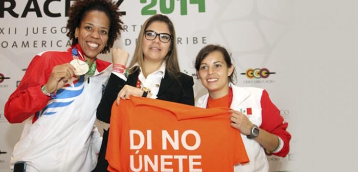 Participación histórica de la mujer en JCC Veracruz 2014