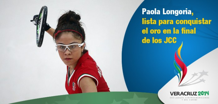Paola Longoria, lista para conquistar el oro en la final de los Juegos Centroamericanos