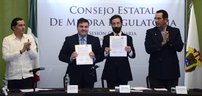 En Veracruz, la Ley de Mejora Regulatoria es una política de vanguardia: Sedecop