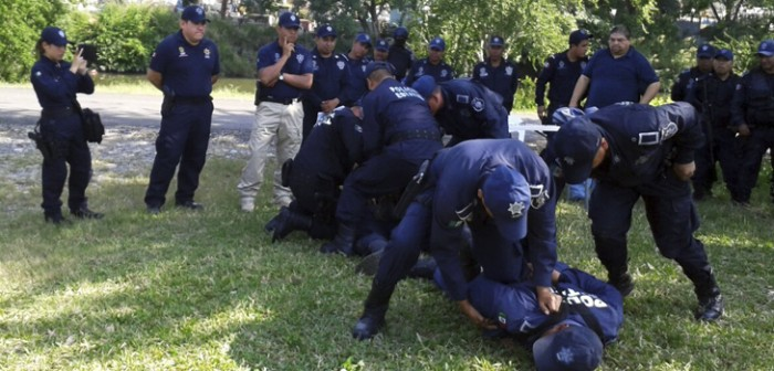 Actualizan a policías de la zona norte en técnicas y conocimientos