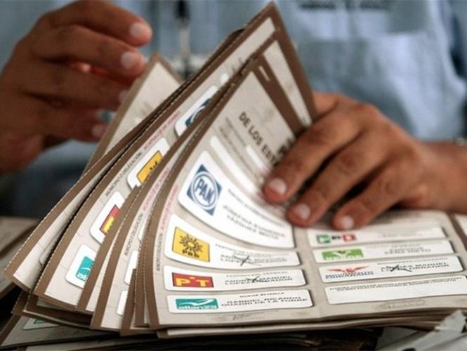 INE aprueba modelo de boletas electorales para elecciones de 2015