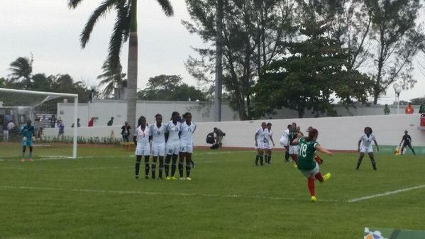 Otro triunfo  de la Selección Femenil  de Futbol en JCC